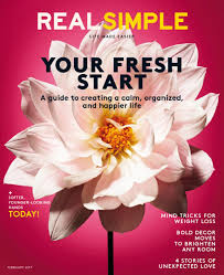 Real Simple Magazine by One Year Subscription To Real Simple For 11 95 Through Tomorrow