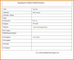 bug report template xls bug report template bug report template doc 7 bug report