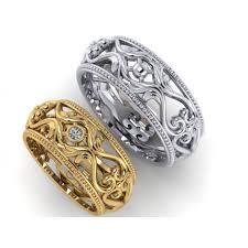 snubni prsteny lluxusní zlaté snubní prsteny coexistence 3 goldorinlux