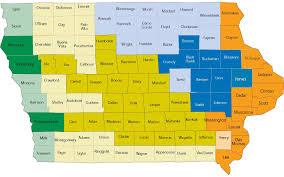 Iowa Counties Map Home Ja