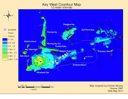 Key West On Map Applications In Gis Hurricane A Study Of Wilma Effects In Key