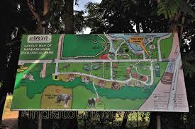National Zoo Map Layout Map Of Nandankanan Zoological Park Nandankanan Zoo