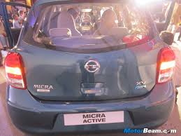 nissan micra active india nissan launches micra active priced at rs 3 5 lakhs