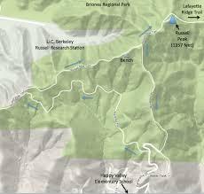 Buckeye Trail Map Briones The Undiscovered Hikes Of Lamorinda