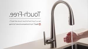 Kitchen Touch Faucets by Kohler Sensate Touchless Sink Faucets Ideas With No Touch Kitchen
