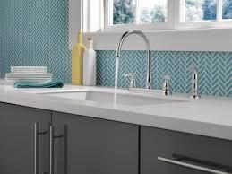 Double Handle Kitchen Faucet by Delta Windemere Double Handle Standard Kitchen Faucet U0026 Reviews