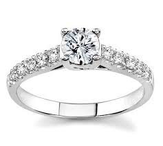 white gold engagement rings cheap aclutx70th engagement ring 18k white gold aclutx70th