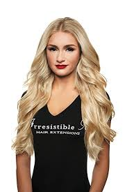 100 human hair extensions irresistible me clip in hair extensions platinum