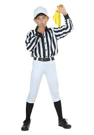Baby Football Player Halloween Costume Child Referee Costume