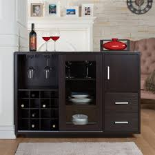 enitial lab idi 1499 wesley dining buffet with wine rack the mine