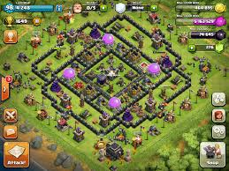 wallpapers clash of clans pocket clash of clans top 10 th9 farming base layouts