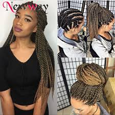 ombre senegalese twists braiding hair 22roots pack senegalese twist hair folded afro kinky twist hair 22