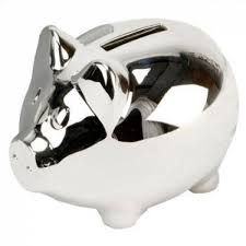 personalized silver piggy bank engraved gifts engraved silver plated piggy bank