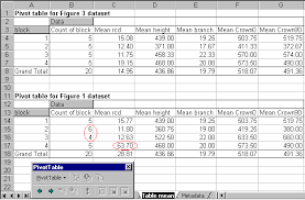 disciplined use of spreadsheets for data entry