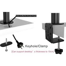 Desk Mount Dual Monitor Stand Dual Lcd Led Monitor Stand Desk Mount Bracket Heavy Duty Stacked