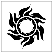 tribal yin yang sun tattoo photo 3 photo pictures and