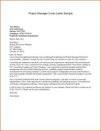 Production Manager Cover Letter Sample It Manager Cover Letter