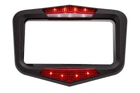 amazon com vololights motorcycle brake lights indicates braking
