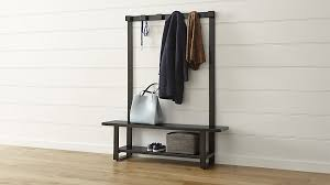 Hallway Shoe Storage Bench Entryway Wood Hall Tree Coat Rack Storage Bench Tradingbasis