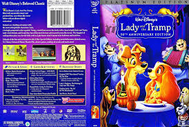 walt disney dvd covers lady tramp disc platinum edition