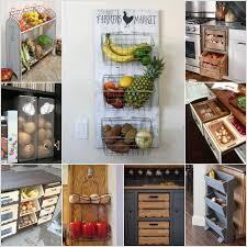 Kitchen Storage Ideas Diy 10 Amazing Diy Produce Storage Ideas For Your Kitchen