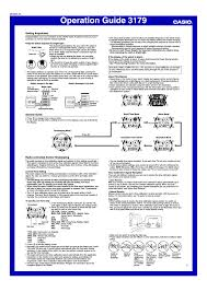 g shock gw 6900 user manual 6 pages also for 3179