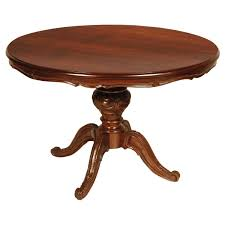 extendable round dining table round dining tables with leaves 143 for sale on 1stdibs