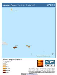 American Samoa Map Map Gallery Sedac