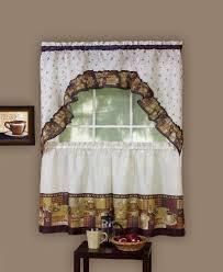 24 Inch Kitchen Curtains Cafe Kitchen Curtains Amazon Com