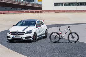 mercedes benz bicycle rotwild introduces mercedes collaboration with r x45 amg mountain