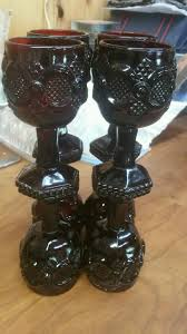 set of 8 avon cape cod wine goblets 4 5 8