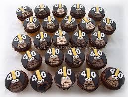 football cupcakes are you ready for some football cupcakes