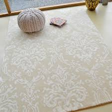 Damask Rugs Riverside Damask Rugs 46709 In Parchment By Sanderson Free Uk