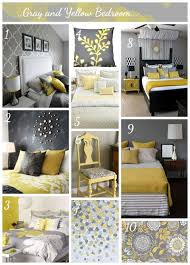 gray bedroom ideas stunning yellow and gray bedroom and best 25 grey yellow rooms