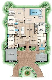 open floor plans for single story spanish style homes 4386 sq ft