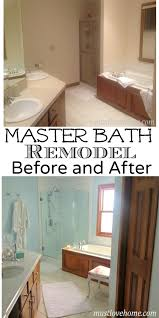 a pretty master bathroom redo u2022 must love home