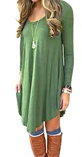 sleeve dress dearcase women s sleeve casual t shirt dress at