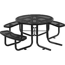 leisure craft picnic tables benches picnic tables picnic tables steel 46 quot