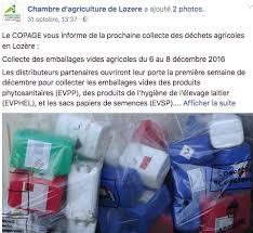 chambre d agriculture lozere adivalor actualités traitement des déchets evpp ppnu