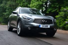 infinity car infiniti fx 30d s review auto express