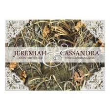 Camo Wedding Invitations Camouflage Hunt Is Over Printed Wedding Invitation Package