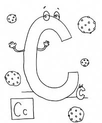 c is for cookies coloring pages alphabet alphabet coloring pages