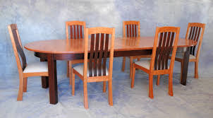 extending oval dining table with matching chairs u003e montana fine