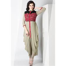 modern dress modern indo western dress at rs 2000 ki designer