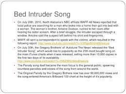 bedroom intruder song internet memes