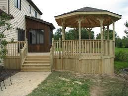 backyard gazebo construction in buffalo ny superior decks u0026 gazebos