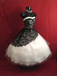 vintage 1950 u0027s tea length short prom dresses 2017 black and white