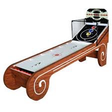 skee ball table plans hathaway boardwalk 8 ft arcade ball table bg2019sk the home depot