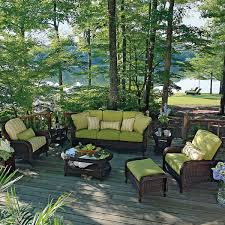 Classic Deep Seating Wicker Patio Furniture By Summer Classics - Summer classics outdoor furniture