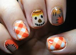 Nail Art Thanksgiving 16 Fall Nail Art Designs You U0027ll Fall In Love With Scarecrows